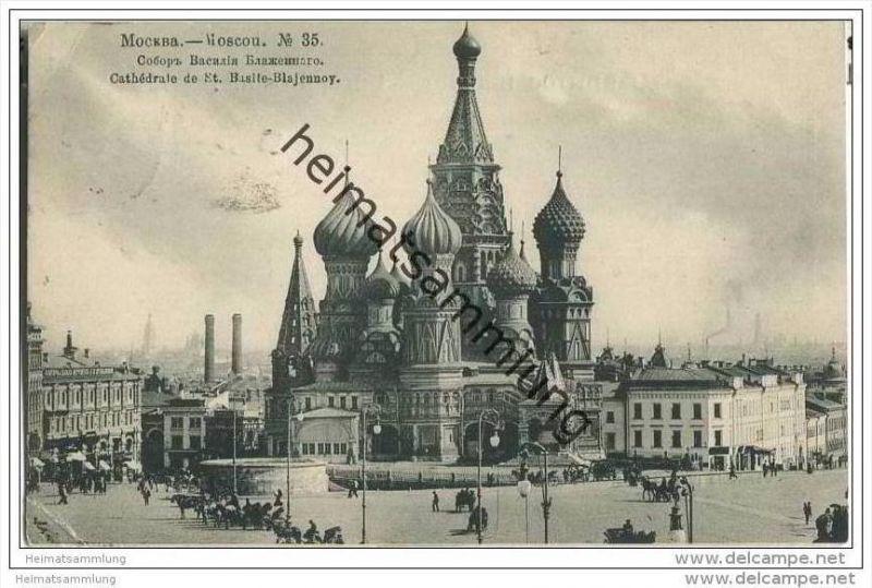 Moskau - Kathedrale St. Basile-Blajennoy