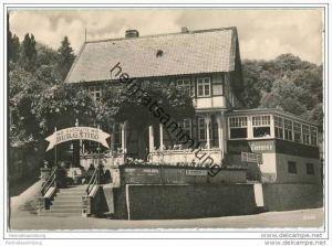 Thale-Treseburg - HO-Gaststätte Burgstieg