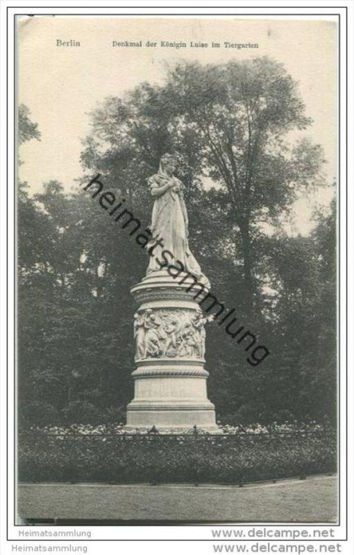 Berlin - Denkmal der Königin Luise im Tiergarten