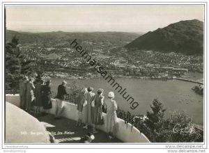 Bergen - Utsikt fra Floien