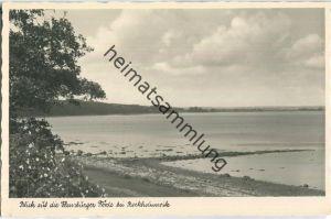 Flensburger Förde bei Bockhorn-Wiek  - Foto-Ansichtskarte - Verlag Foto-Remmer Langballig - Serie Das schöne Angeln