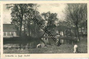 Groß-Brebel - Dorfpartie - Foto-Ansichtskarte - Verlag Foto-Remmer Langballig - Serie Das schöne Angeln