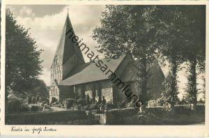 Groß-Quern - Kirche - Foto-Ansichtskarte - Verlag Foto-Remmer Langballig - Serie Das schöne Angeln