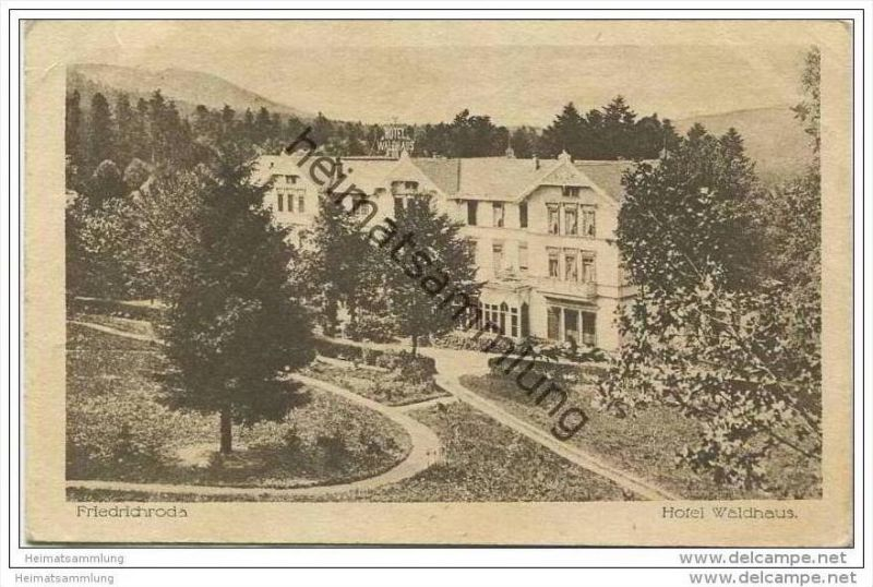 Friedrichroda - Hotel Waldhaus
