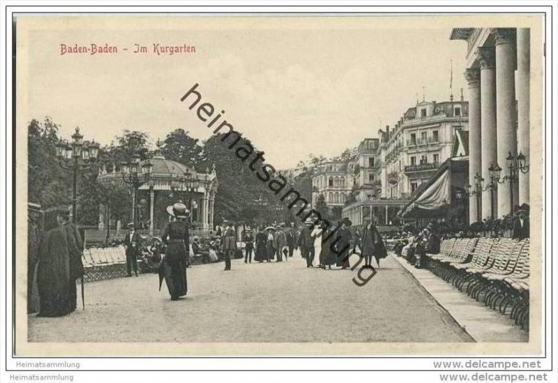 Baden-Baden - Kurgarten