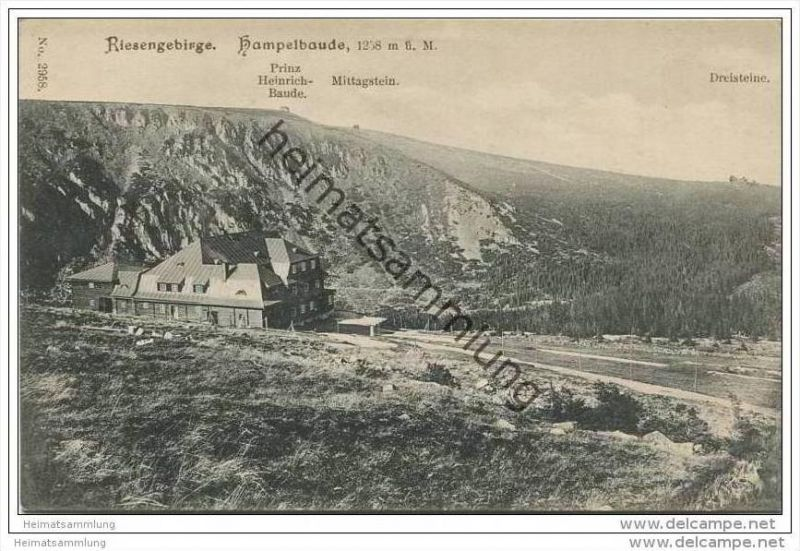 Hampelbaude 1910
