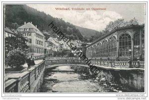 Wildbad - Trinkhalle mit Olgastrasse