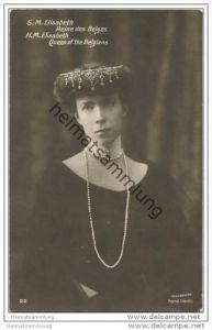 Belgien - S. M. Elisabeth Reine des Belges