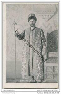 Russland - Empereur de Russie - Russischer Kaiser - Zar Nikolaus II.