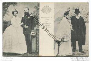 Grossherzogin Luise und Grossherzog Friedrich von Baden