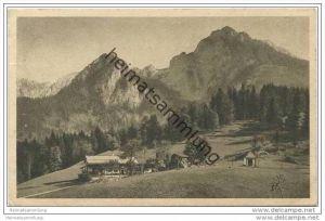 Alpenwirtschaft Vorderbrand bei Berchtesgaden