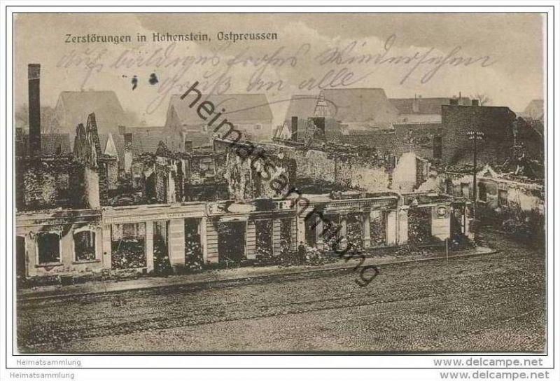 Hohenstein - Zerstörungen