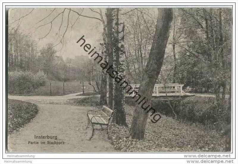 Insterburg - Tschernjachowsk - Stadtpark - Feldpost