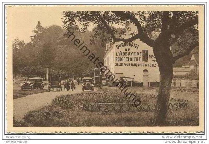 Auderghem - Rouge-Cloitre - Le Pignon du Grand Hotel de l' Abbaye de Rouge-Cloitre - Prop. Mme Dupret-Perrard