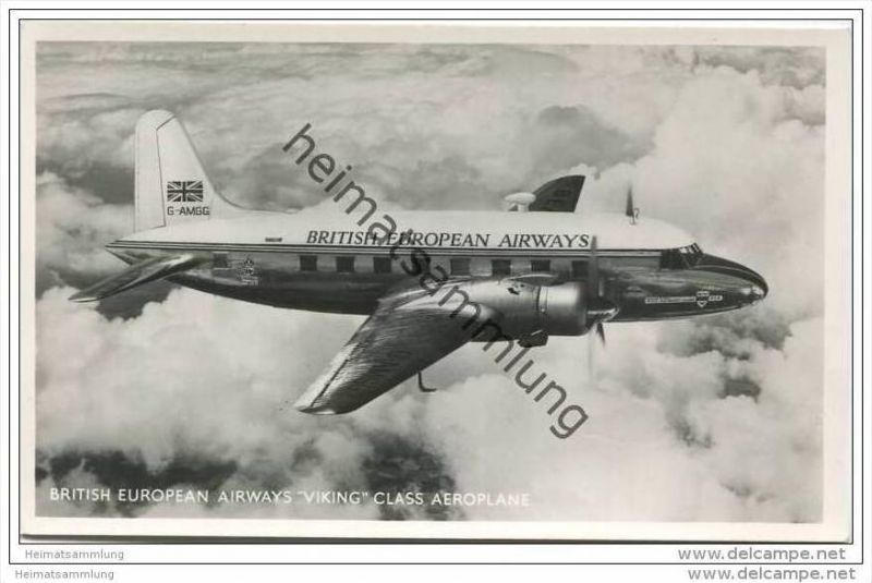 British European Airways Viking Class Aeroplane