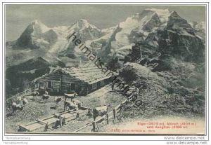 Eiger Mönch und Jungfrau - Berg-Idylle 20er Jahre
