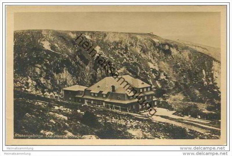 Die Hampelbaude 1913