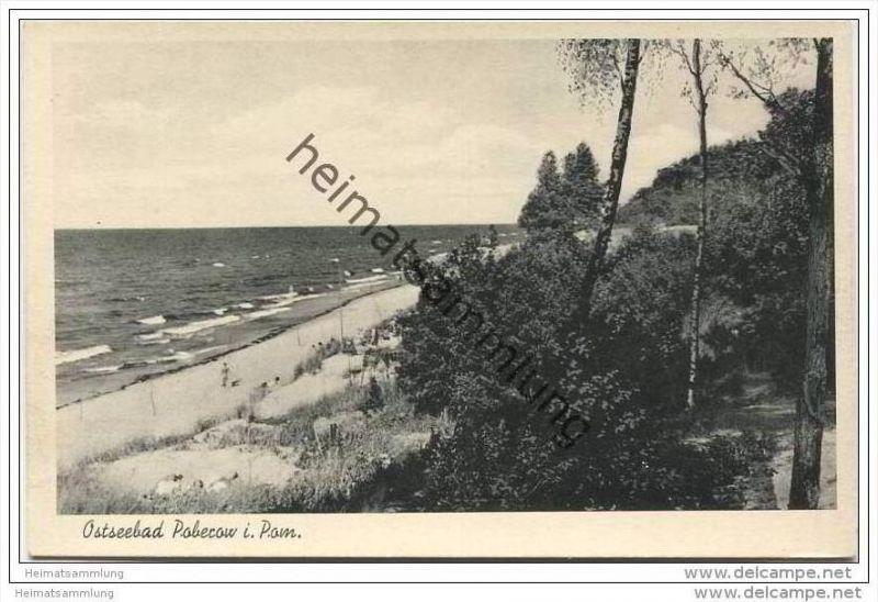 Poberow - Kr. Cammin - Strand 40er Jahre
