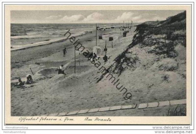 Poberow - Kr. Cammin - Am Strande 40er Jahre
