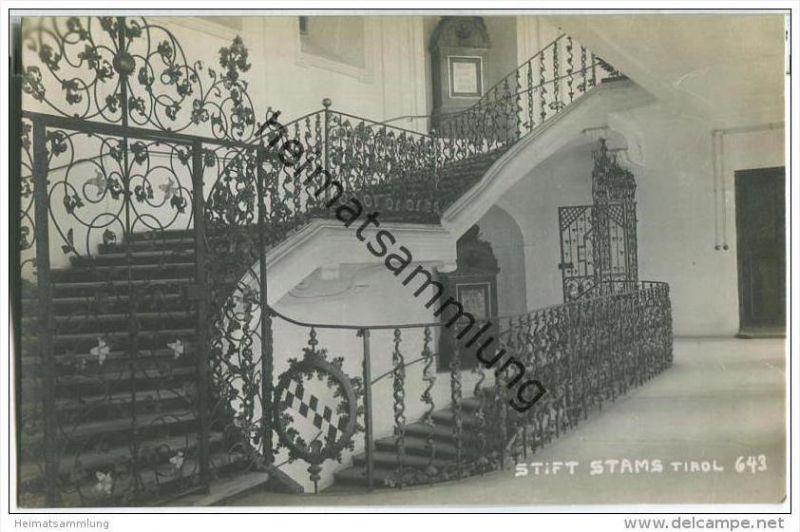 Stams - Stift - Foto-AK 1923