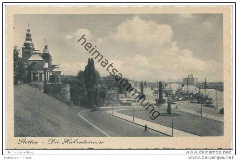 Stettin - Die Hakenterrasse 40er Jahre