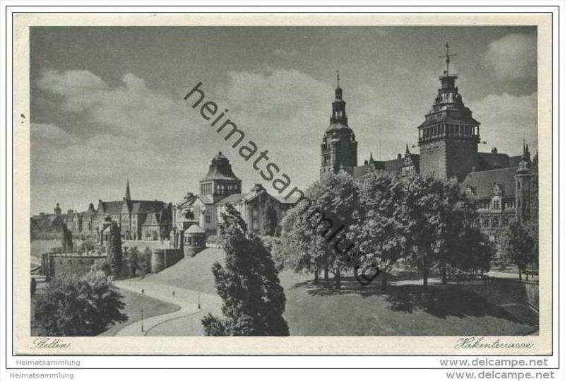 Stettin - Hakenterrasse