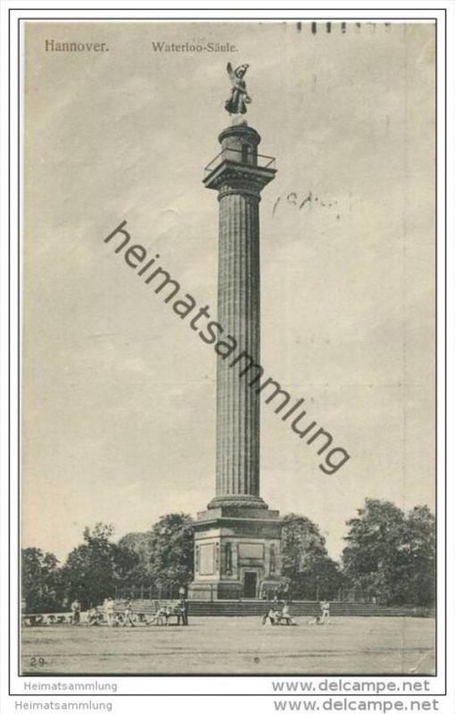 Hannover - Waterloo Säule