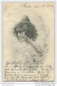 Frau - Künstlerkarte