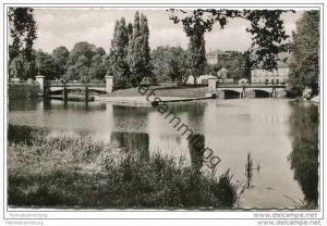 Herford - An der Werre - Foto-AK 50er Jahre