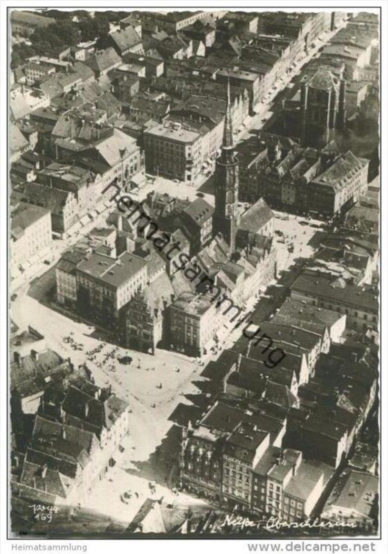 Neisse - Fliegeraufnahme - Popp-Verlag Heidelberg - Einzelhandabzug
