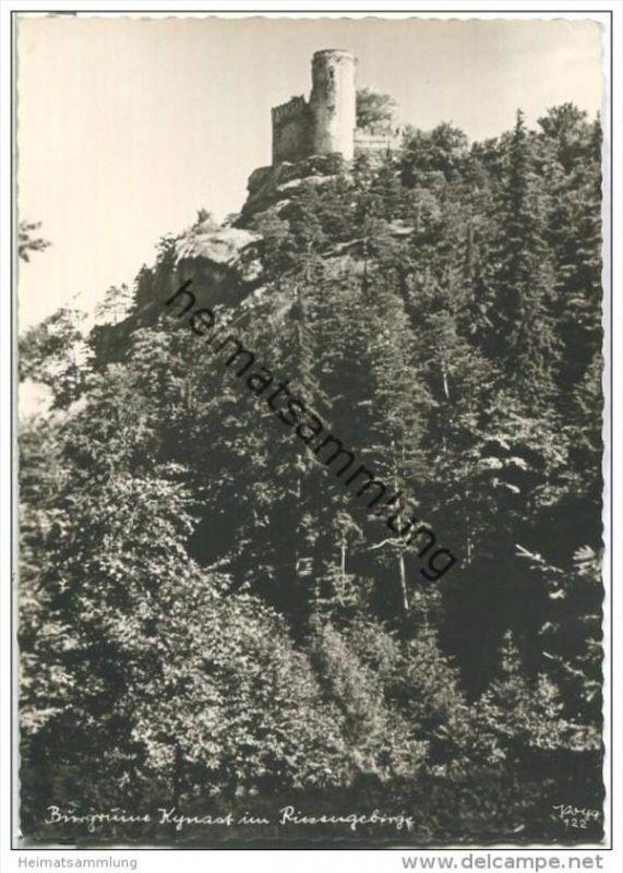 Burgruine Kynast - Popp-Verlag Heidelberg - Einzelhandabzug