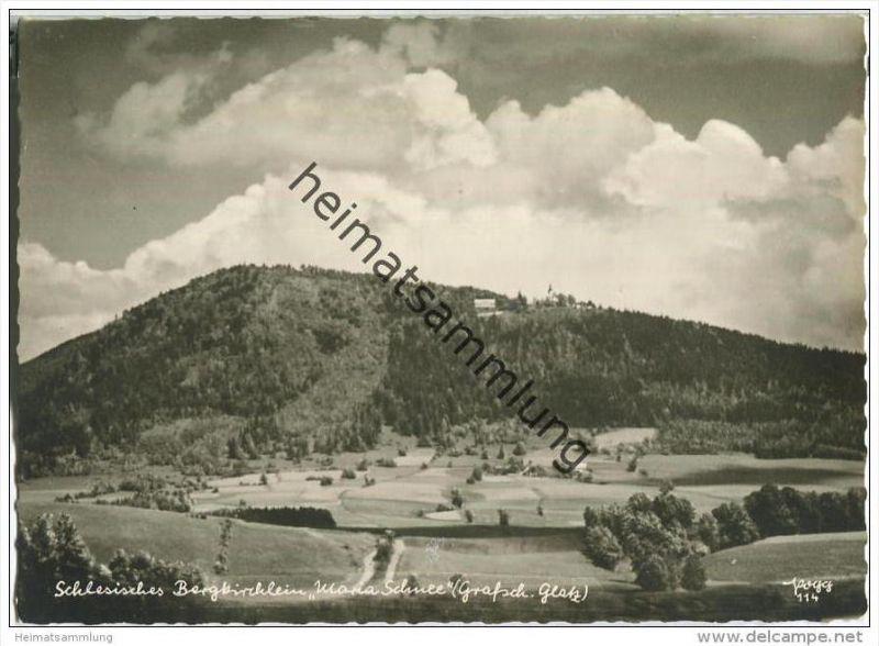 Schlesisches Bergkirchlein Maria Schnee - Popp-Verlag Heidelberg - Einzelhandabzug