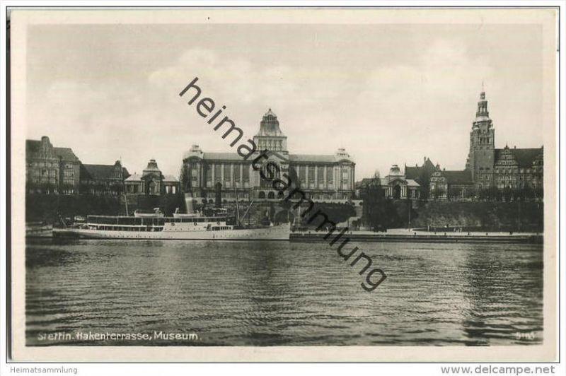 Stettin - Hakenterrasse - Museum