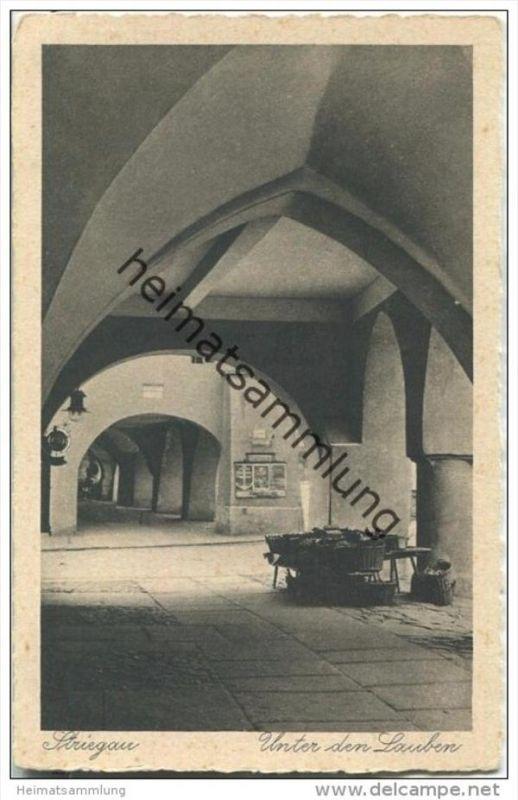 Strzegom - Striegau - Unter den Lauben