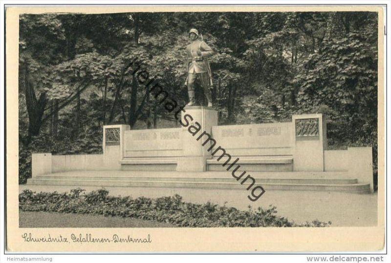 Swidnica - Schweidnitz - Gefallenen-Denkmal