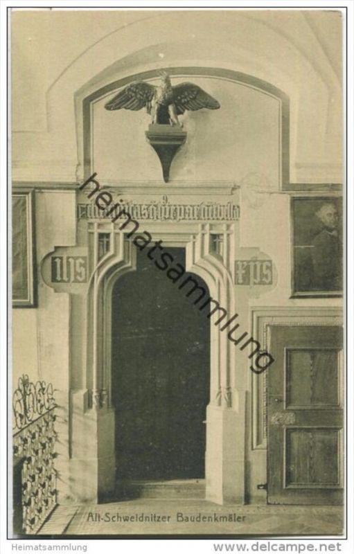 Swidnica - Alt-Schweidnitz - Baudenkmäler Rathaus 1. Etage