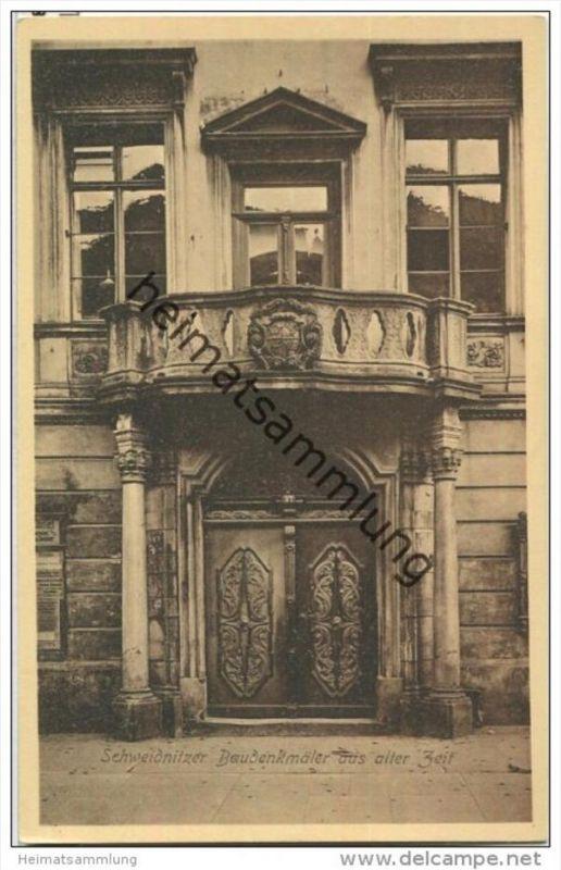 Swidnica - Schweidnitz - Baudenkmäler aus aller Zeit - Rathaus Hauptportal