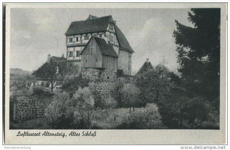 72213 Altensteig - Altes Schloss