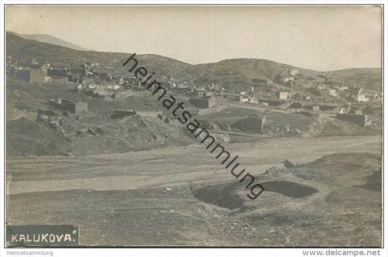 Kaluckova - Gesamtansicht - Foto-AK ca. 1915