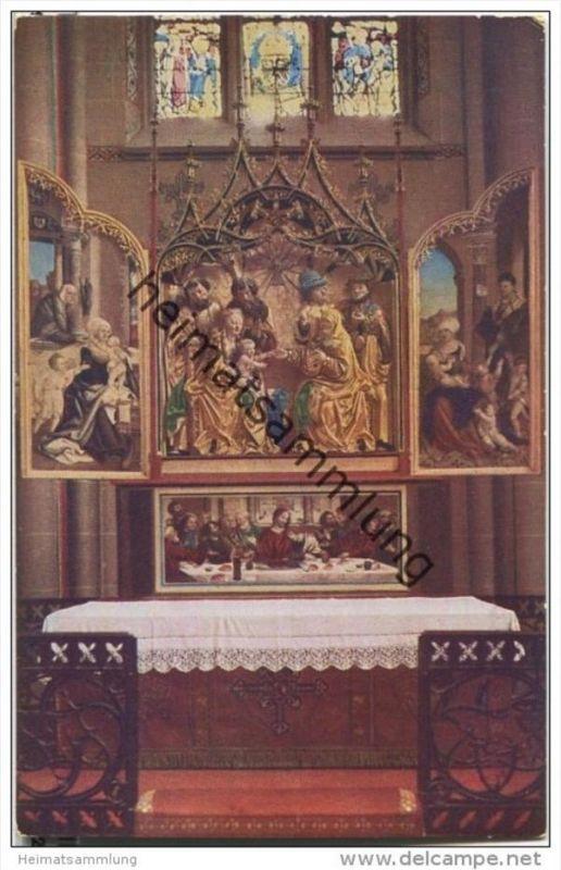 Ulm - Münster - Schaffner-Altar im Chor