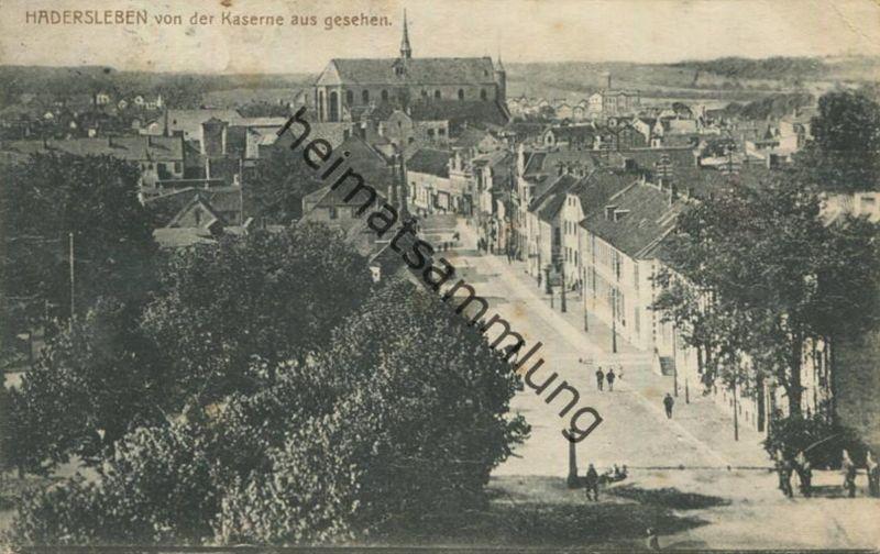 Haderslev - Hadersleben von der Kaserne aus gesehen - Verlag L. Johannsen Hadersleben