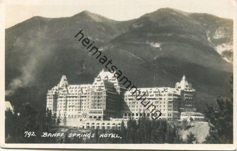 Banff - Springs Hotel - Foto-AK