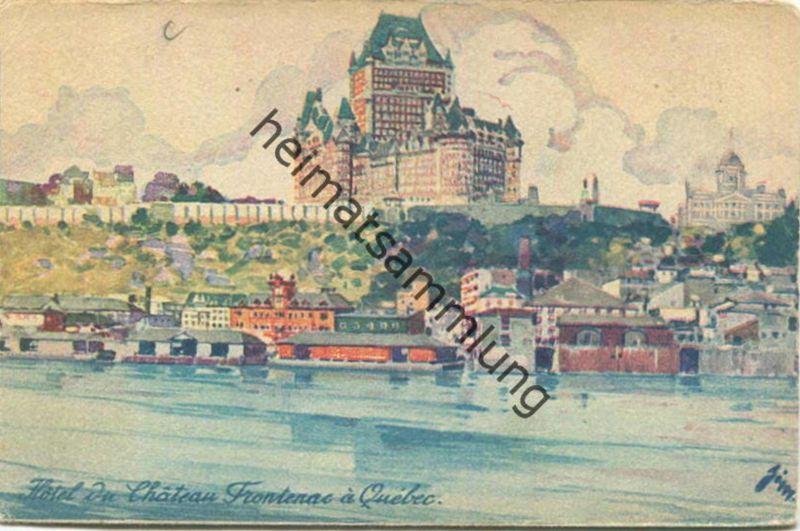 Quebec - Hotel du Chateau Frontenac