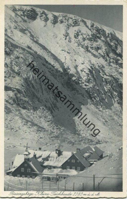 Kleine Teichbaude - Verlag Walter Staudte Hirschberg