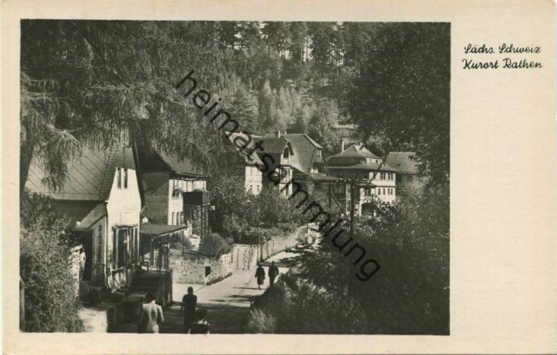 Rathen - Foto-AK - Verlag Dick Erlbach 50er Jahre