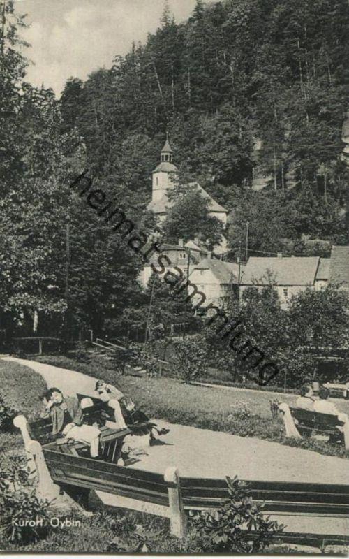Oybin - Zittauer Gebirge - Verlag Lothar Mattuscheck Görlitz 50er Jahre