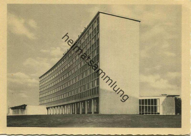 Berlin-Kreuzberg - Eröffnung der Amerika-Gedenkbibliothek - Berliner Zentralbibliothek am 17. September 1954 - AK-Großfo