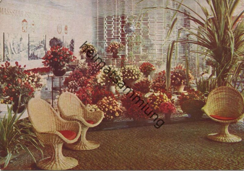 Erfurt - 1. Internationale Gartenbauausstellung der sozialistischen Länder 29. April bis 15. Oktober 1961- Verlag Walthe