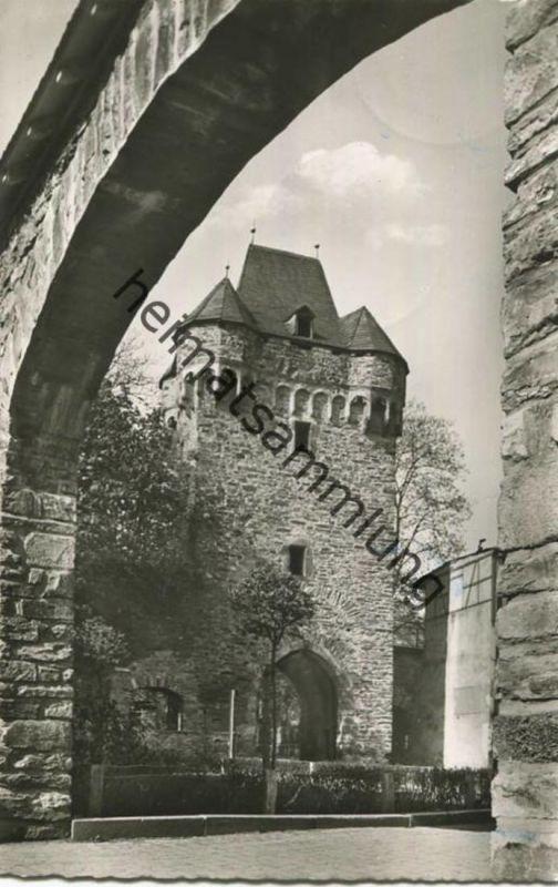 Ahrweiler - Am Obertor - Foto-AK - Verlag Foto Segschneider Ahrweiler gel. 1957