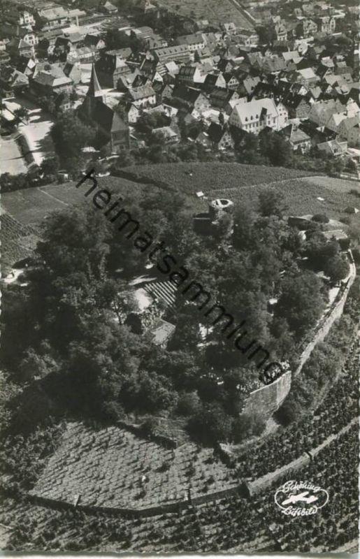 Weinsberg - Luftaufnahme - Foto-AK - Verlag Schöning & Co. Lübeck